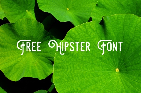 free-hipster-font