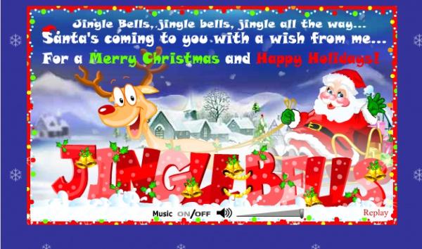 Free Holiday Christmas Ecard