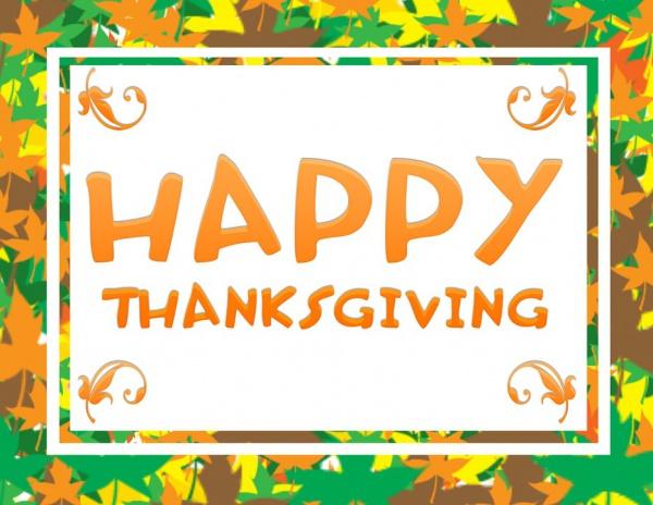 Free Inspirational Thanksgiving Image