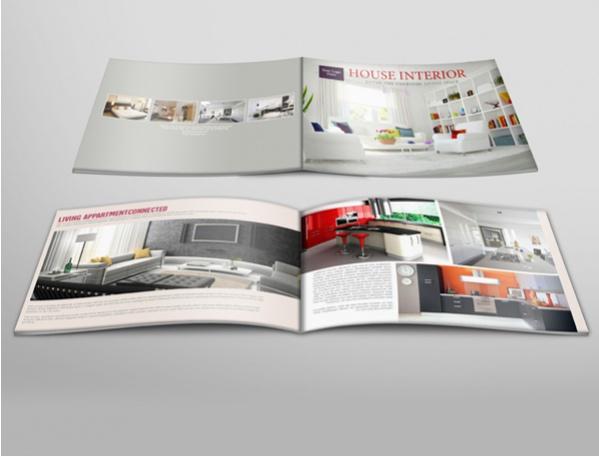 Free Interior Brochure Leaflet Design