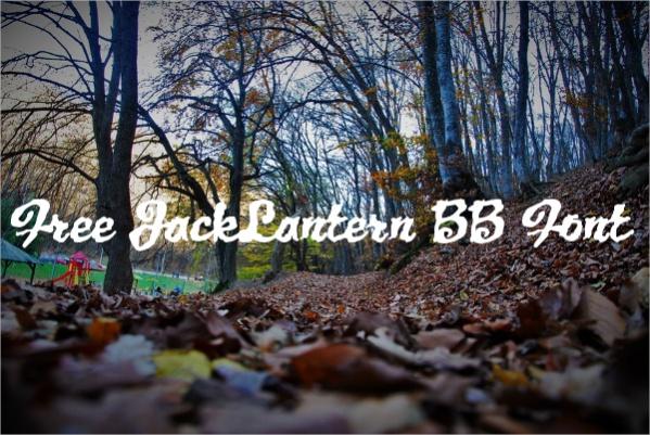 Free JackLantern BB Font