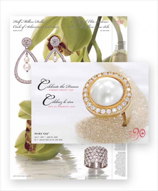 Free Jewelry Leaflet Brochure Design