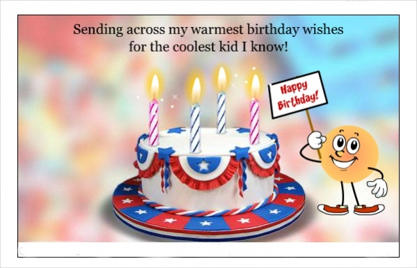 Free Kids Birthday Ecard