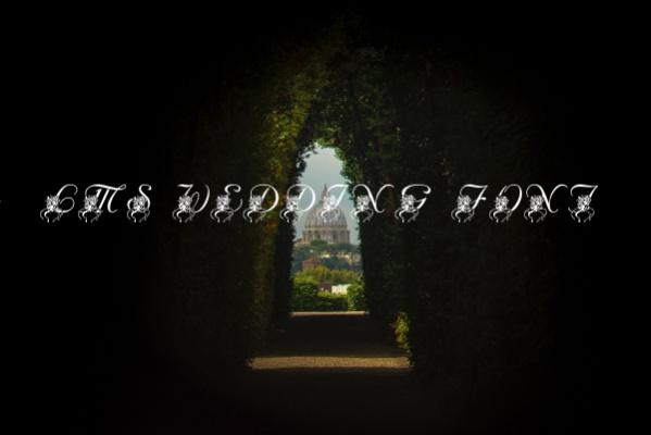 Free LMS Wedding Font