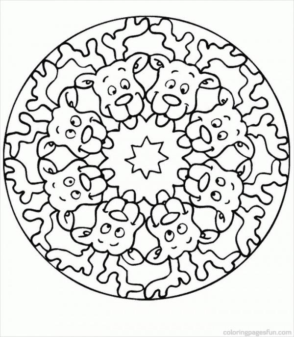 free-mandala-printable-christmas-coloring-page