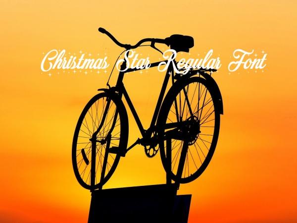 Free Merry Christmas Star Regular Font