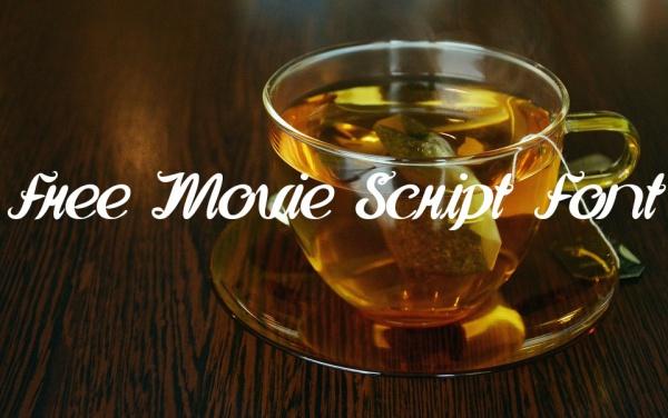 Free Movie Script Font