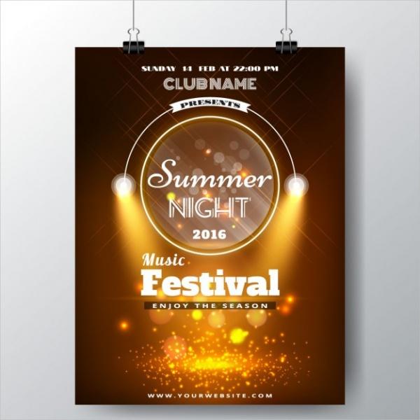Free Music Poster Leaflet Design