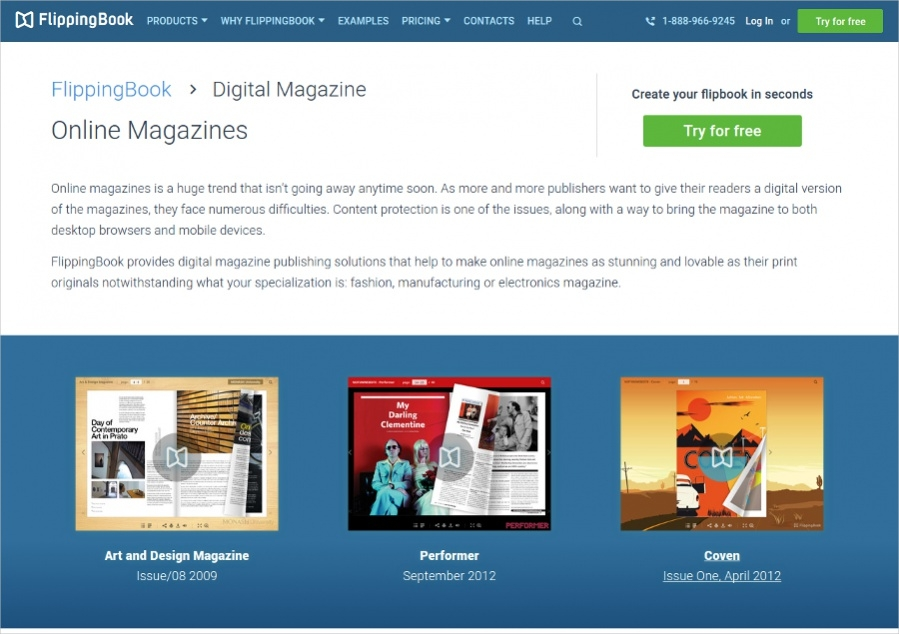Free Online Digital Magazines