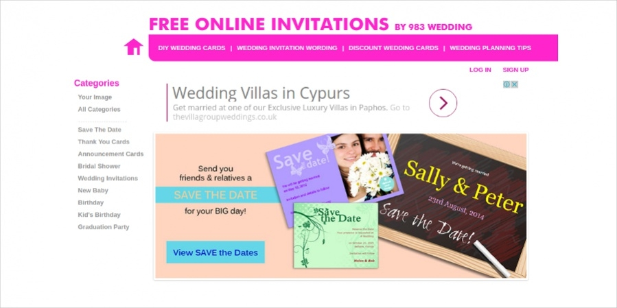 Free Online Wedding Invitation