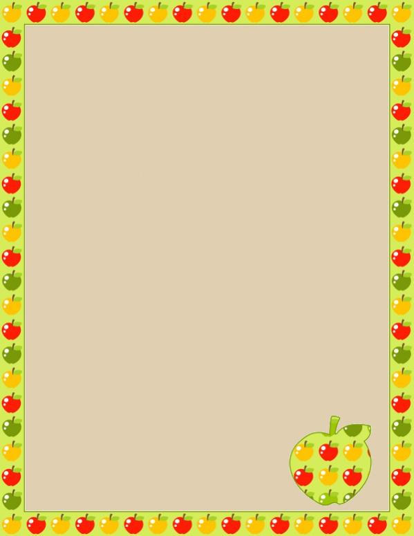 Free Page Border Clip Art