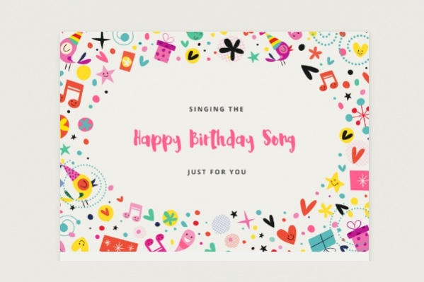 Free Personalized Birthday Ecard