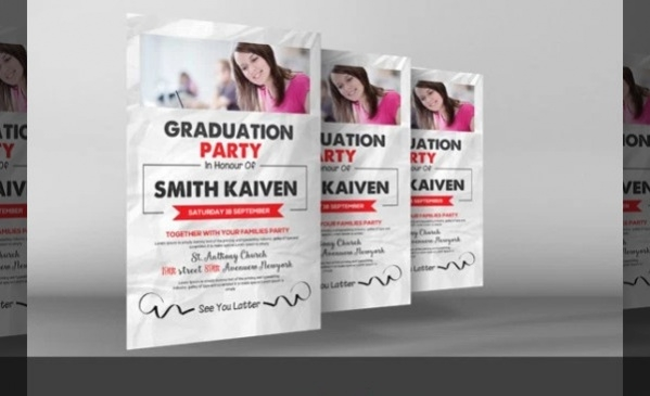 free personalized graduation invitation