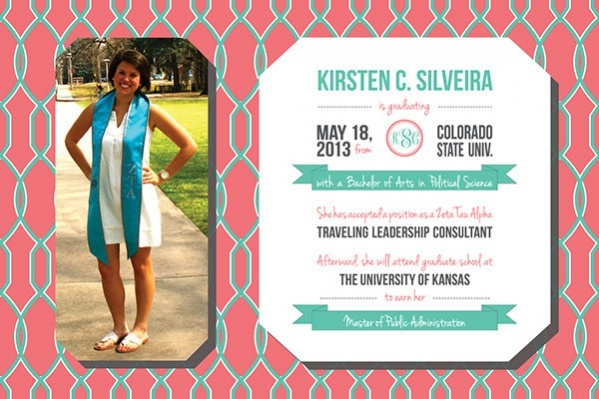 free photo graduation invitation