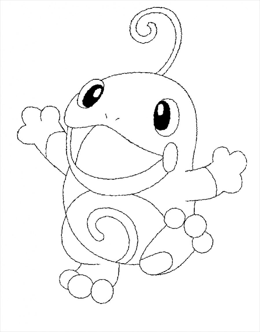 free pokemon christmas coloring pages - photo#18
