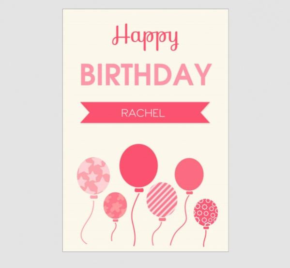Free Printable Birthday Card