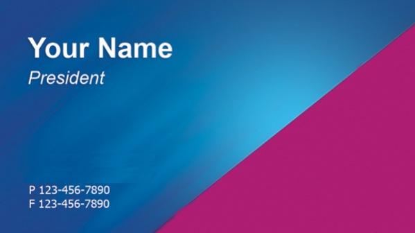 Free Printable Business Card Design