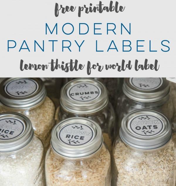 Free Printable Label Design