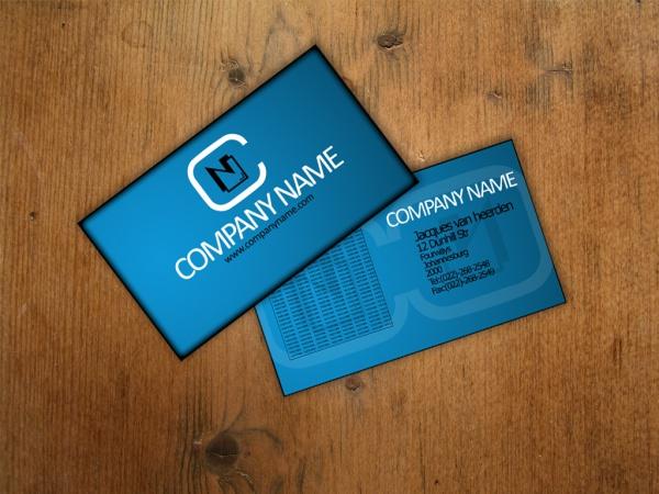 Free Printable Luxury Business Card