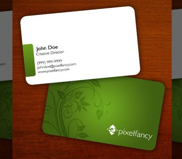 Free Printable PSD Business Card