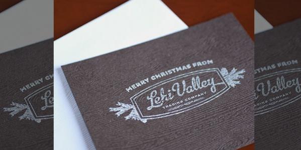 Free Printable Rustic Christmas Card