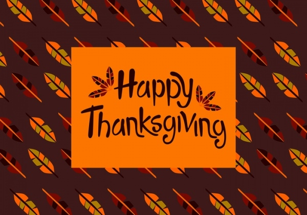 Free Printable Thanksgiving Vector