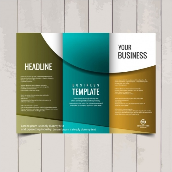 TriFold Brochure Designs PSD Vector Download – Free Printable Tri Fold Brochure Template