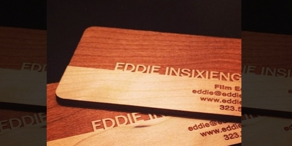 Free Printable Wooden Business Card