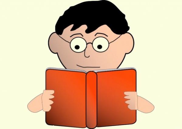free reading clipart for teacher1