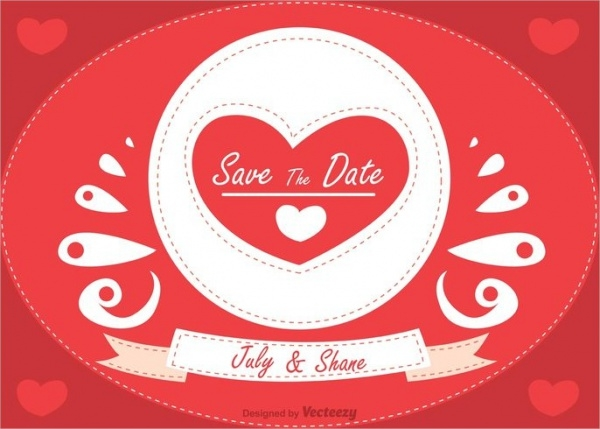 free save the date background