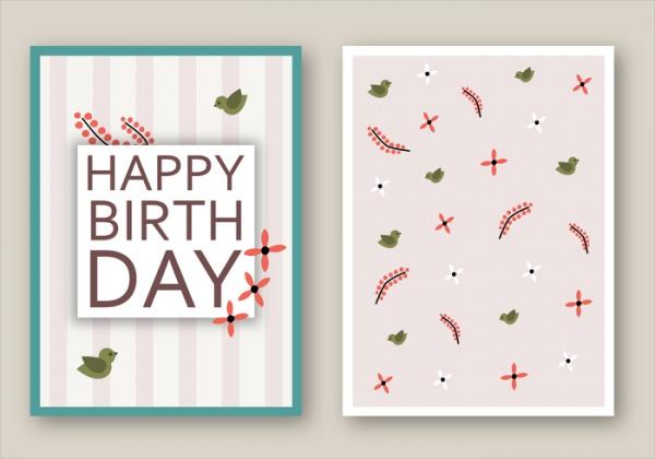 Free Simple Birthday Card