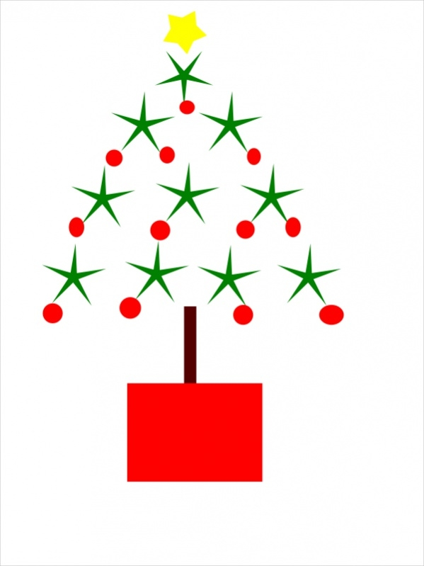 Free Simple Christmas Clip Art
