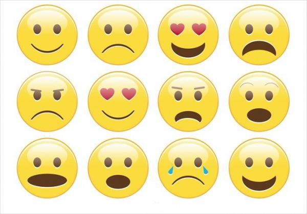 Free Smiley Emotion Set