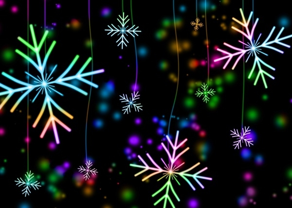 Free Snow Flake Christmas Image