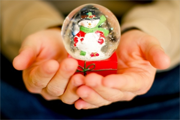 Free Snow Globe Christmas Picture