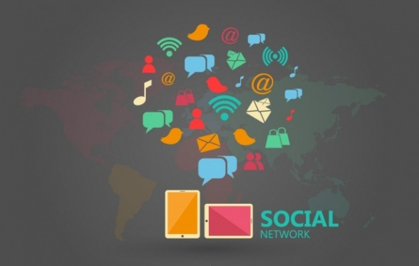 Free Social Media Infographic Template