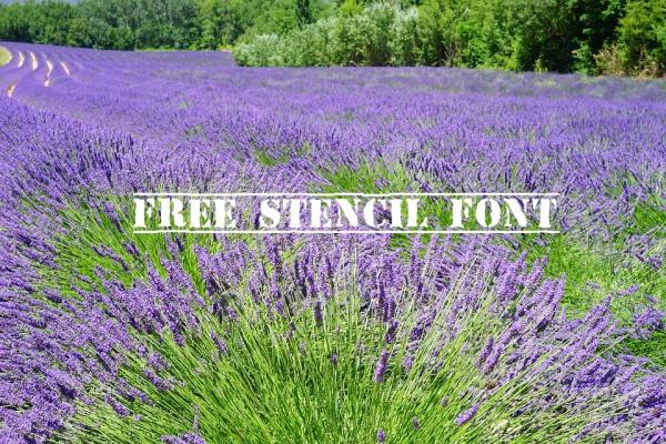 free-stencil-font