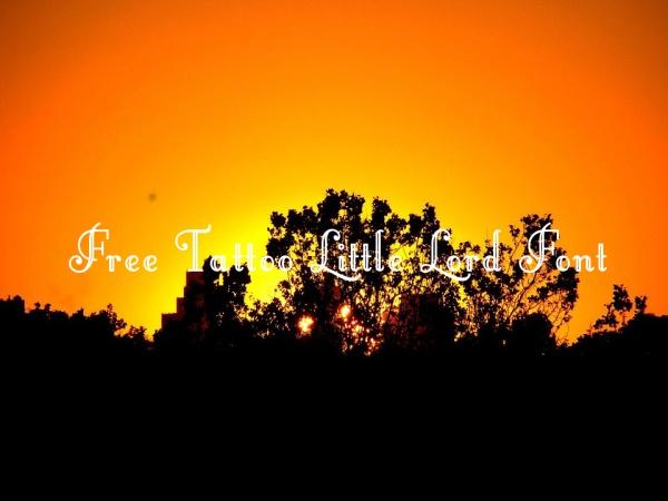 Free Tattoo Little Lord Font