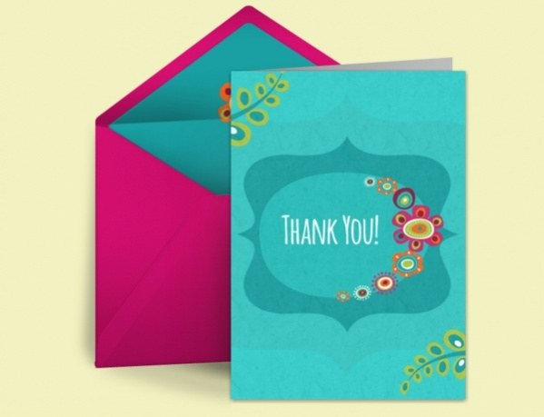 Free Thank You Animated Ecard
