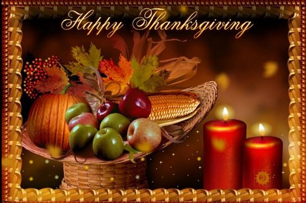 Free Thanksgiving Background Image