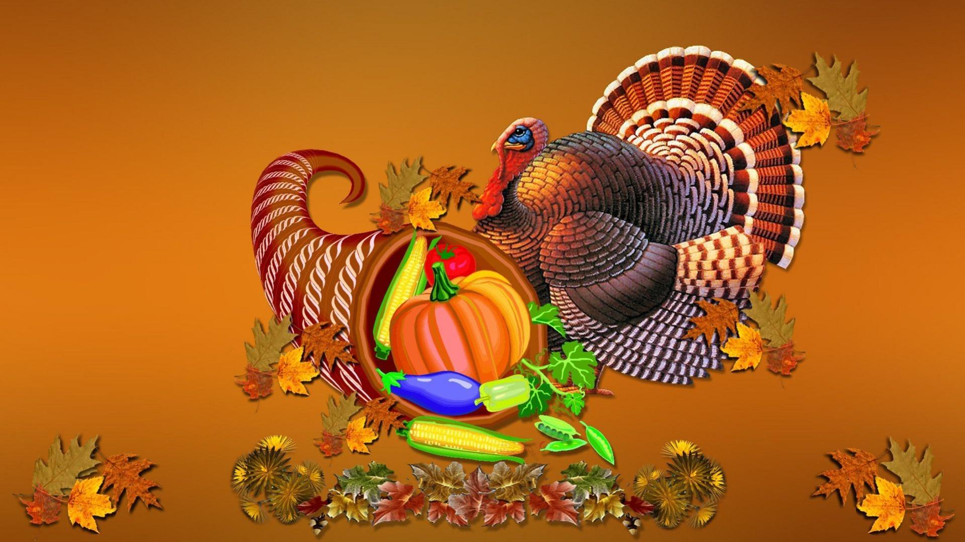 Free Thanksgiving Computer Wallpaper