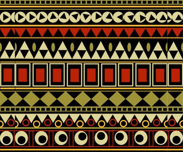 Free Tribal Border Pattern