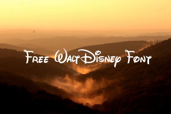 14+ Disney Font Free - TTF, OTF Download