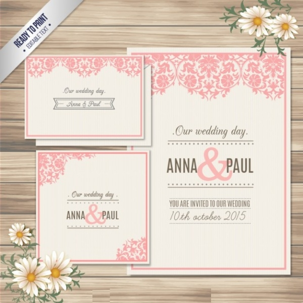 Free Wedding Card Design