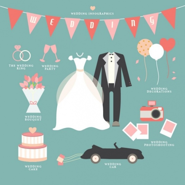 Free Wedding Catalog Infographic Design
