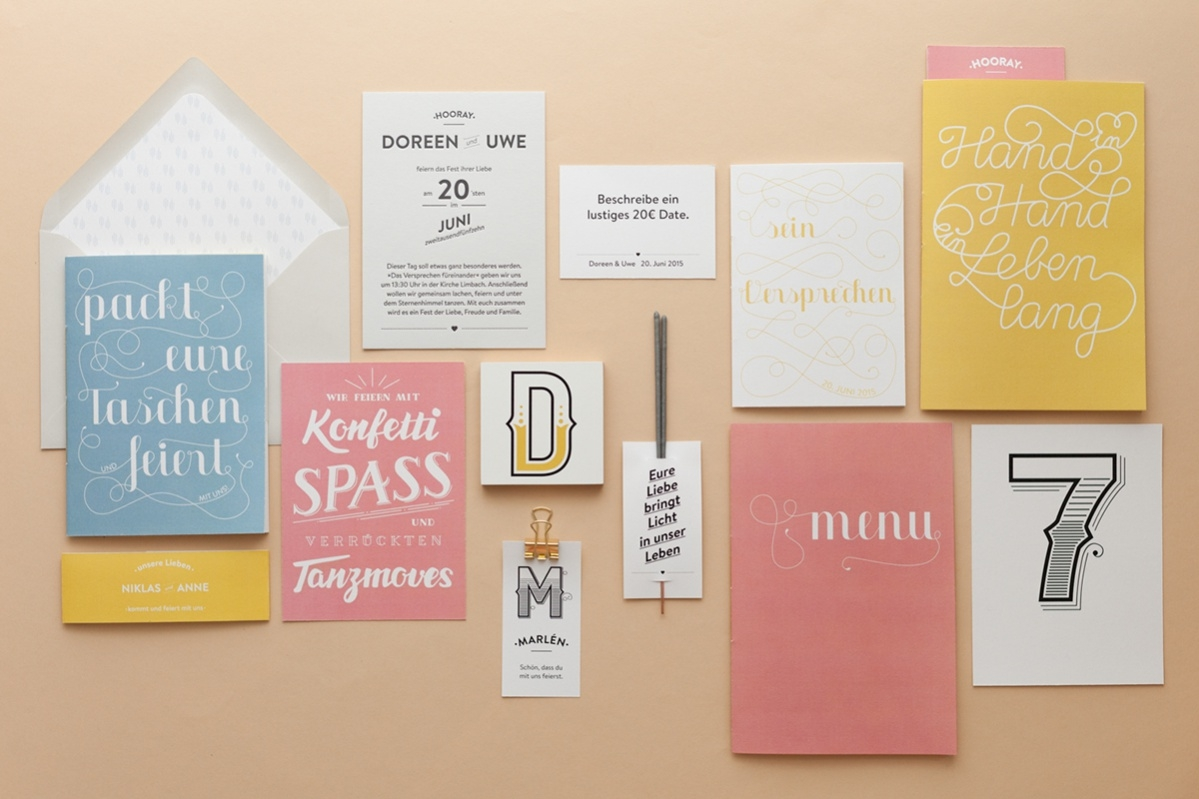 Free Wedding Stationery Template