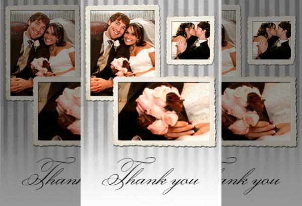 Free Wedding Thank You Ecard