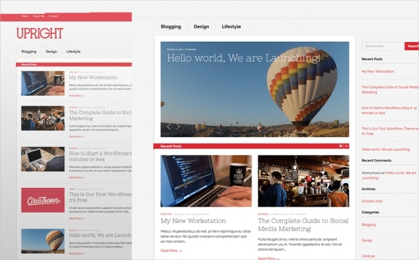 Free WordPress Website Template