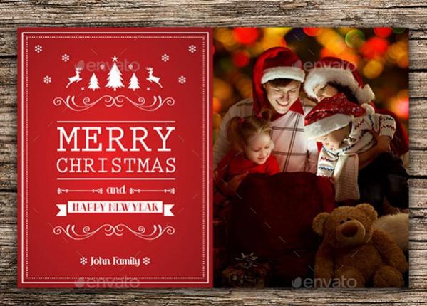 Fully Customized Christmas card