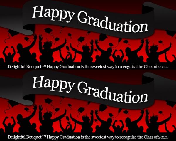 Fully Customized Graduation banner